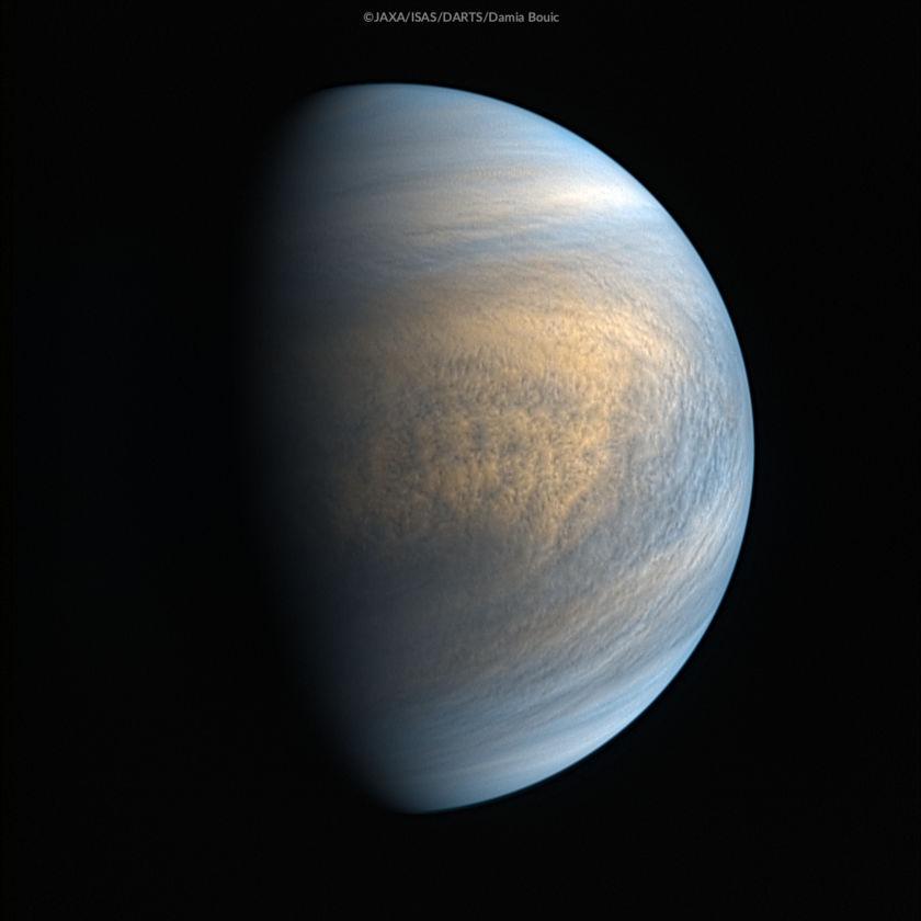 Venus from Akatsuki on 4 November 2017
